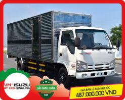 Xe tải Isuzu VM 2.4 tấn thùng kín (NK490SL4)
