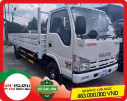Xe tải Isuzu VM 2.4 tấn thùng lửng (NK490SL4)