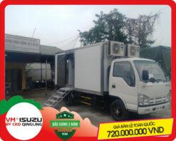 Xe tải Isuzu 2 tấn chở y tế lưu động (NK650L4)