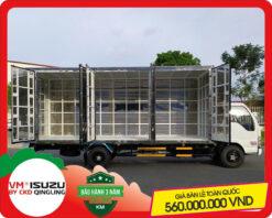 Xe tải Isuzu VM 1.8 tấn thùng chở Pallet (NK550SL4)