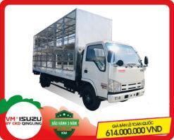 Xe tải Isuzu VM 1.8 tấn thùng chở xe máy (NK550SL4)