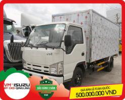 Xe tải Isuzu VM 3.4 tấn thùng kín (NK650L4)