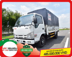 Xe tải Isuzu VM 1.4 tấn thùng bạt NK470L4