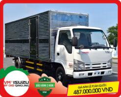 Xe tải Isuzu VM 1.4 tấn thùng kín NK470L4